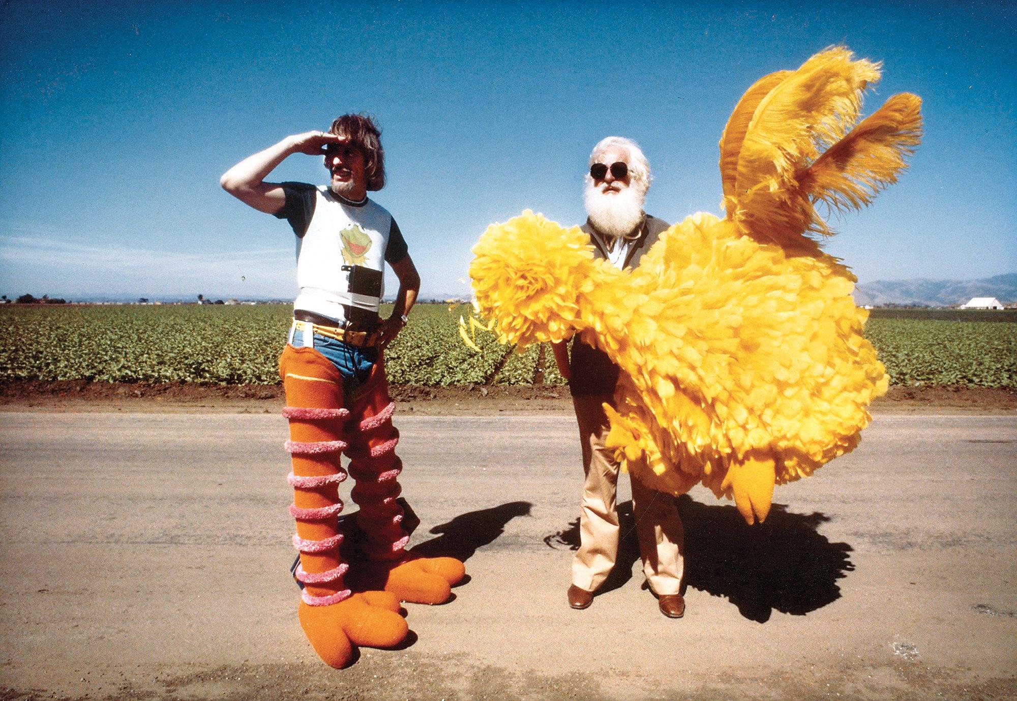 Caroll Spinney in I Am Big Bird