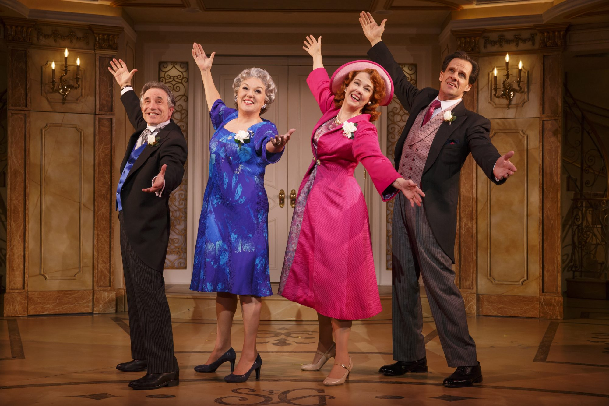 """It Shoulda Been You"" Chip Zien, Tyne Daly, Harriet Harris and Michael X. Martin"