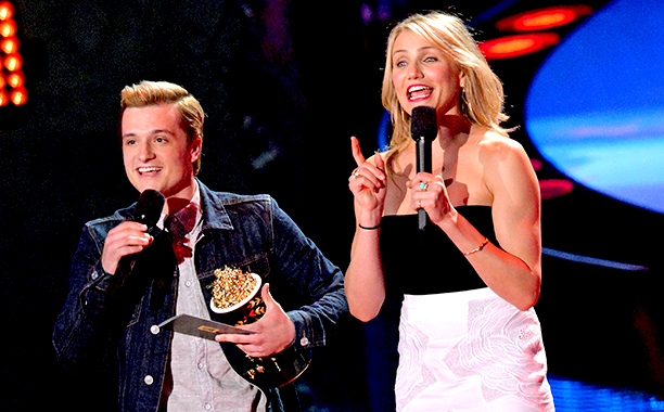 MTV Movie Awards 2014 | Josh Hutcherson is, without a doubt, the most...uh...game of the Hunger Games stars, but an awards show just never feels complete without Jennifer Lawrence. So…