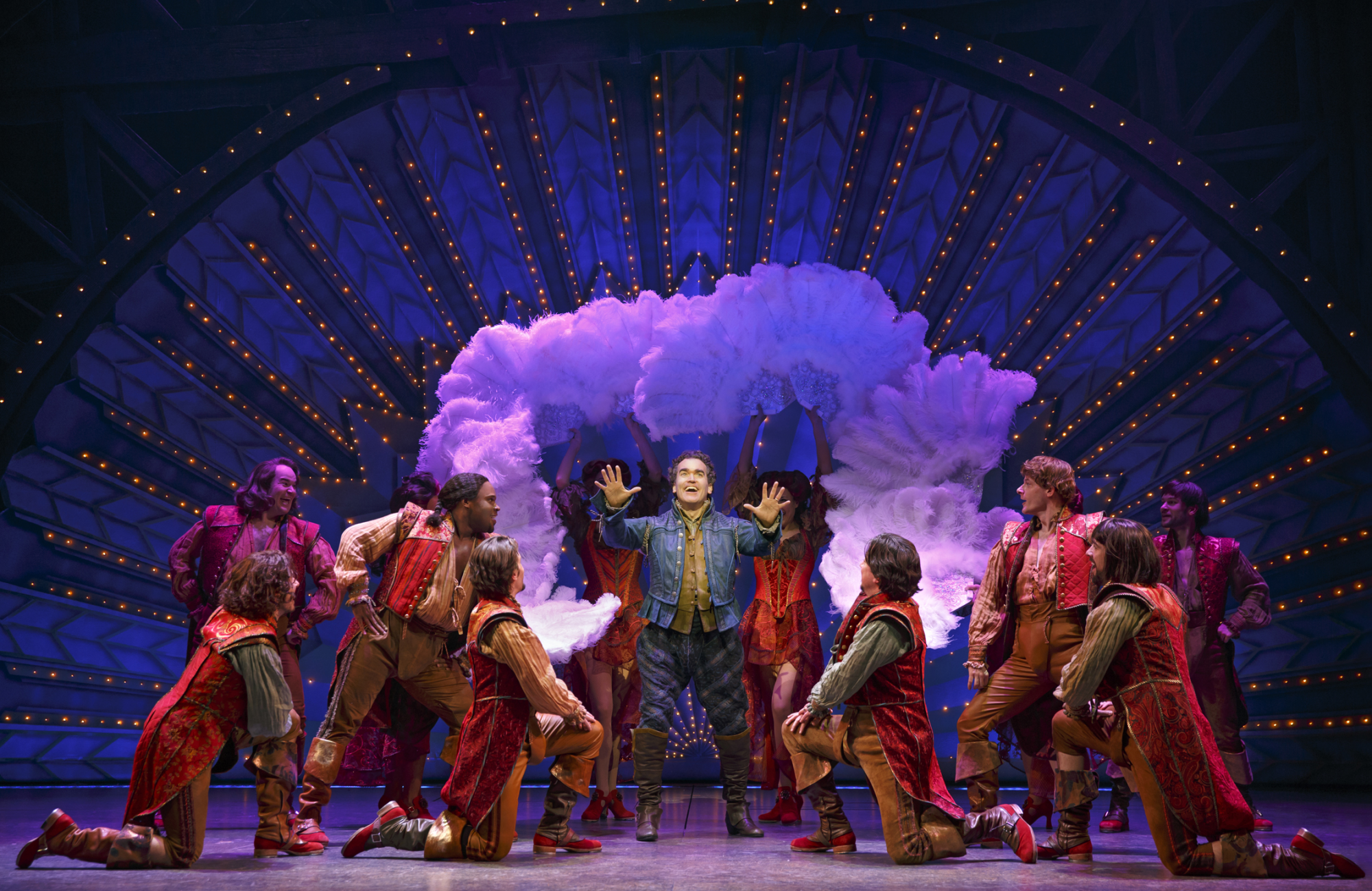 """Something Rotten!"" Brian d'Arcy James and ensemble"