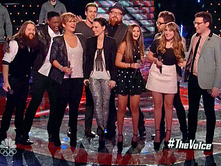 The Voice Top Ten