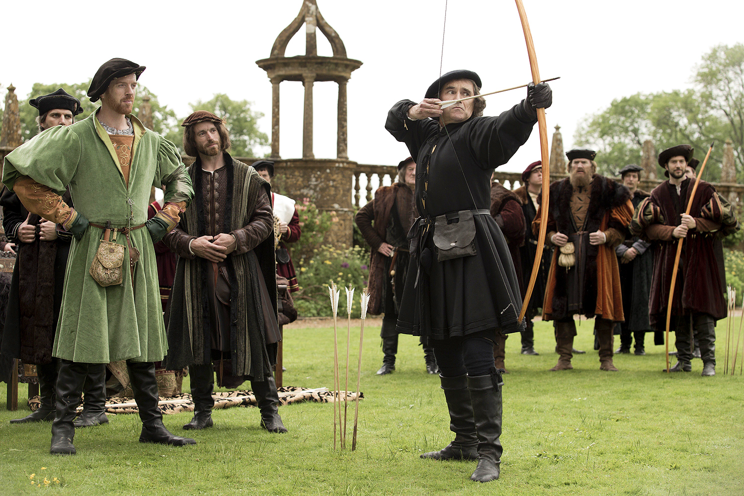 Damian Lewis and Mark Rylance in Wolf Hall