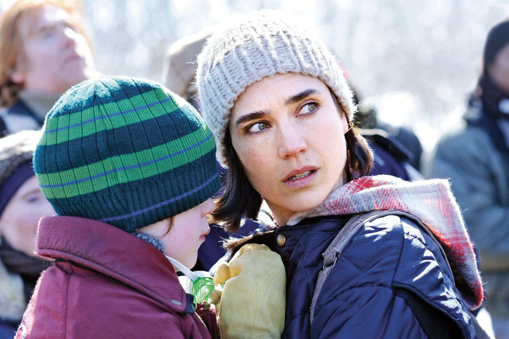 Winta McGrath and Jennifer Connelly in Aloft