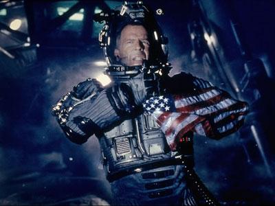 Armageddon | Bruce Willis as Harry Stamper ( Armageddon ) Driller of oil, destroyer of space rocks, savior of the human race.