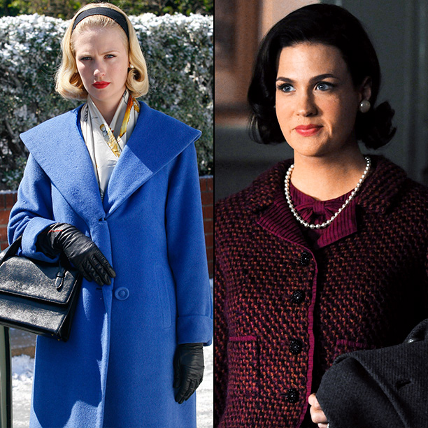 Mad Men | January Jones: [Betty?s style hasn?t changed] too much. Matt [Weiner] has always said that Betty found her look in 1955 and doesn't really evolve from…