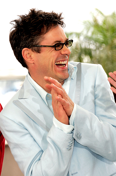"Robert Downey Jr. promoting ""Kiss, Kiss, Bang, Bang"""