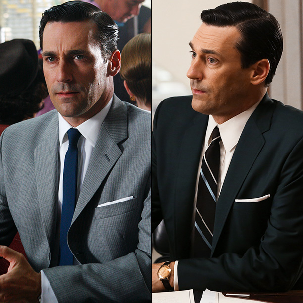 Mad Men | Jon Hamm: [Don?s style] changes glacially. He's an older man and he's set in his ways?The interesting thing about that is that as time moves…