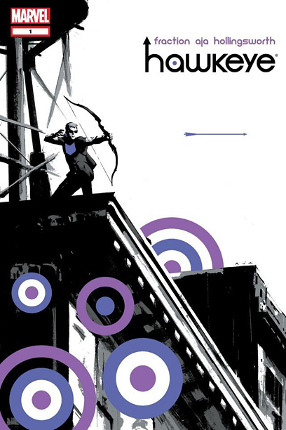 """Lucky,"" ""Hawkeye"" #1 (2012)"