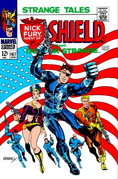 """Armageddon,"" ""Strange Tales"" #167 (1968)"
