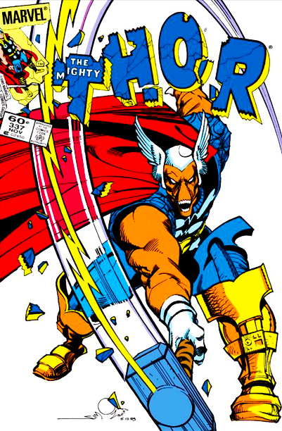 """""""The Ballad of Beta Ray Bill,"""" """"The Mighty Thor"""" #337-340 (1983)"""