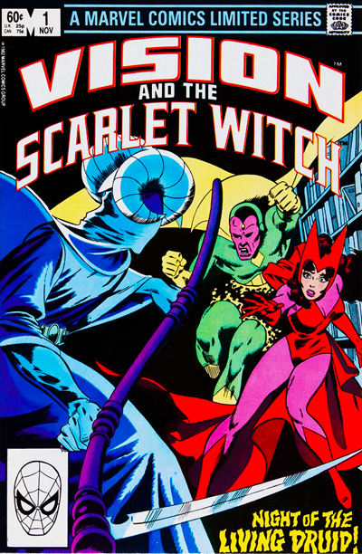 """""""Vision & the Scarlet Witch: A Year in the Life"""" (1985)"""