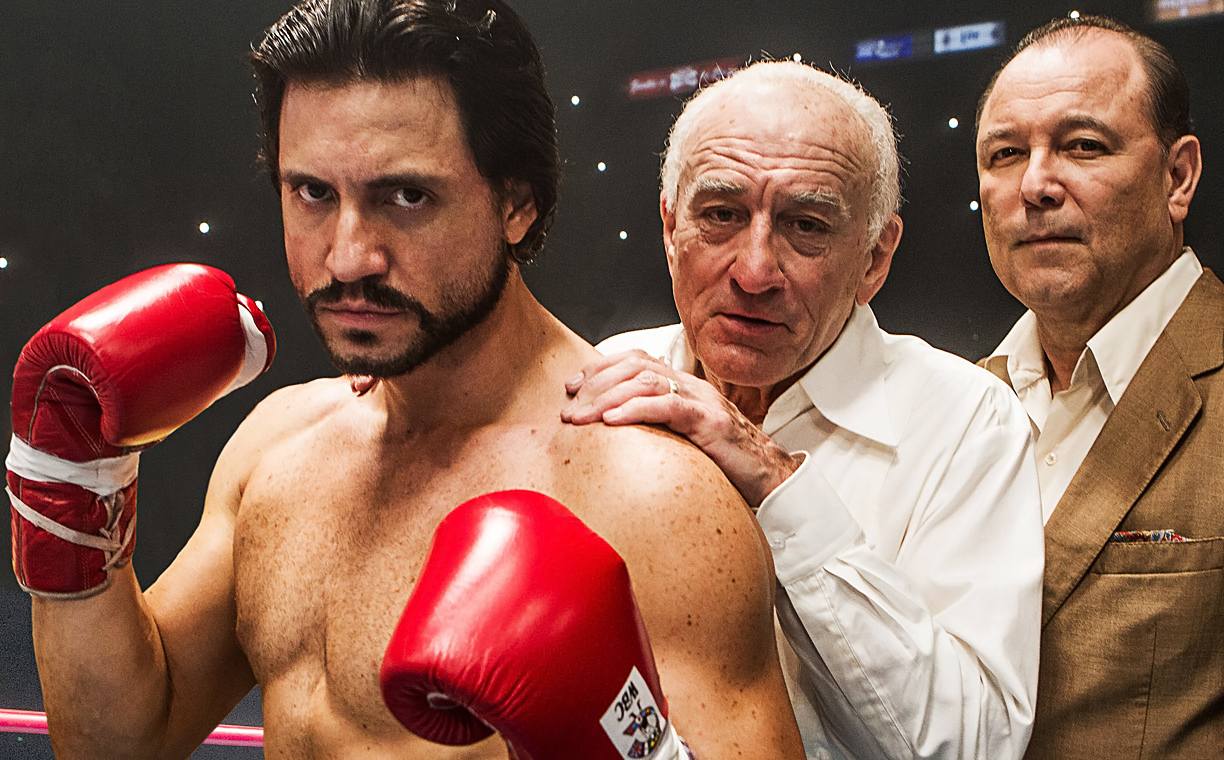 Edgar Ramirez and Robert De Niro