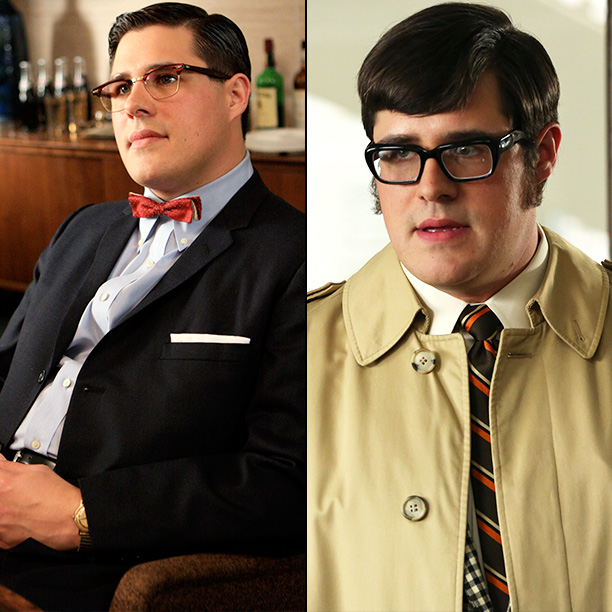 Mad Men | Janie Bryant: Harry Crane has had a lot of character changes, and his costume design has really progressed through each and every season. Now he's…