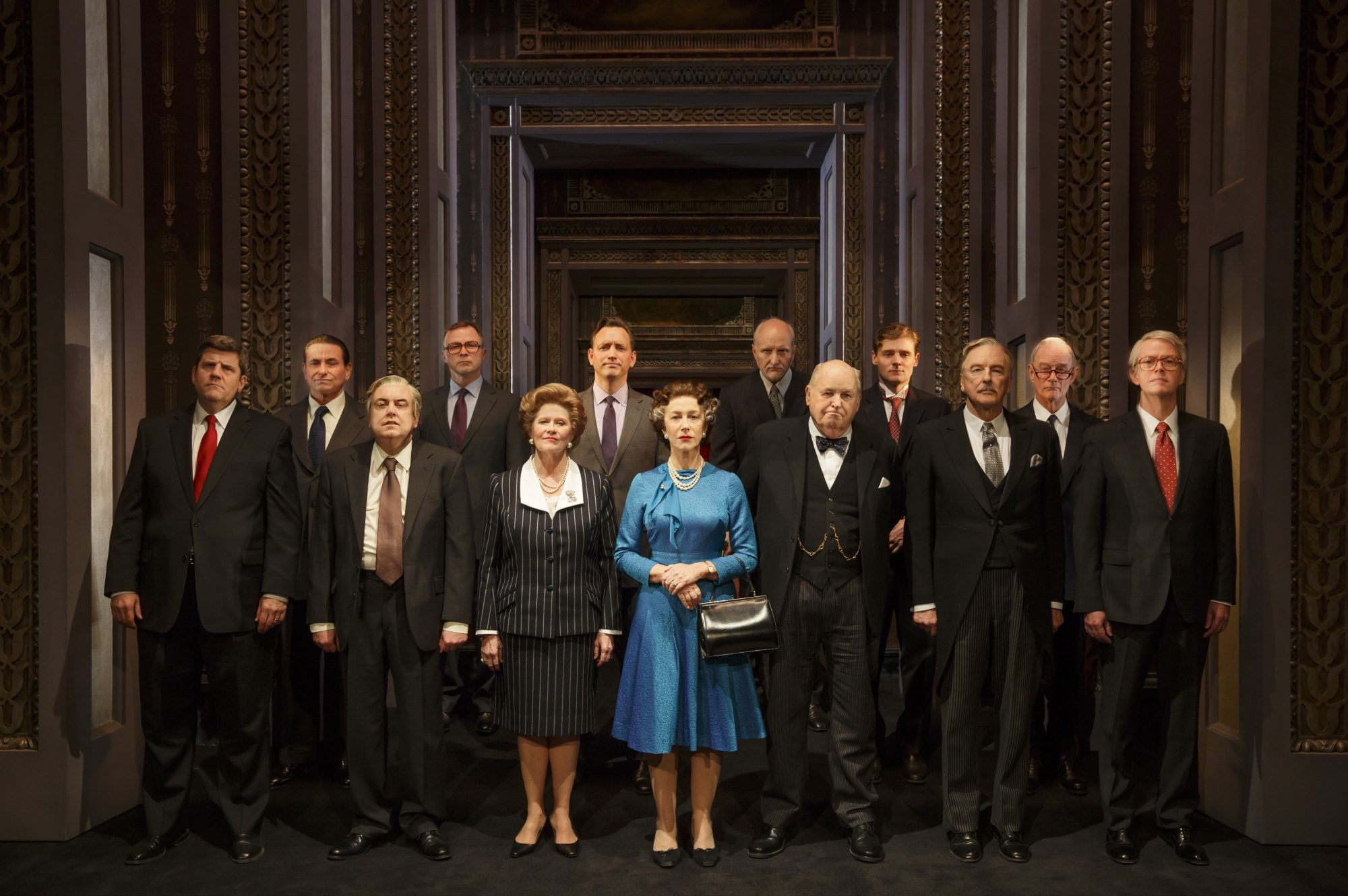 """""""The Audience"""" Helen Mirren and ensemble"""