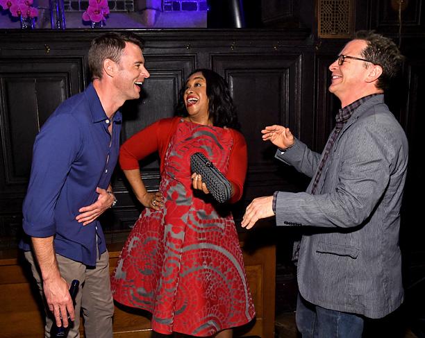 Scott Foley, Shonda Rhimes, Joshua Malina