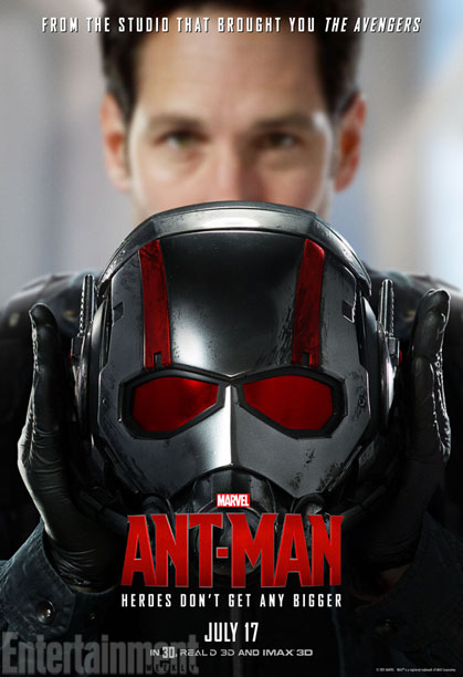 Paul Rudd as Scott Lang, A.K.A. Ant-Man