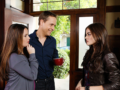 Chad Lowe, Lucy Hale, ... | In the beginning, Byron Montgomery (Chad Lowe) was Aria's (Lucy Hale) sweet and loving father — that was before we discovered his secret affair with…