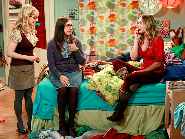 Kaley Cuoco, Mayim Bialik, ... | One aspiring actress, two Ph.D holders, three besties...is there a more mismatched group of friends on this list? But that's exactly the kind of alchemy…