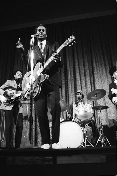Chuck Berry at Drew University, April 1969