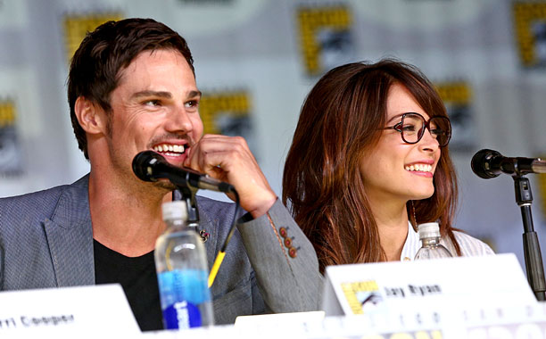 San Diego Comic-Con 2013, Kristin Kreuk | Jay Ryan and Kristin Kreuk take a question at the Beauty And The Beast panel