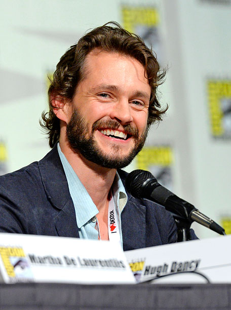 San Diego Comic-Con 2013, Hannibal | Hugh Darcy listens to question from the audience during the Hannibal panel