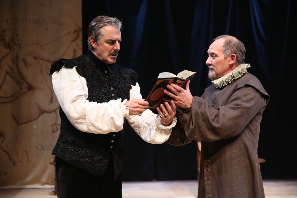 """Doctor Faustus"" Chris Noth and Zach Grenier"