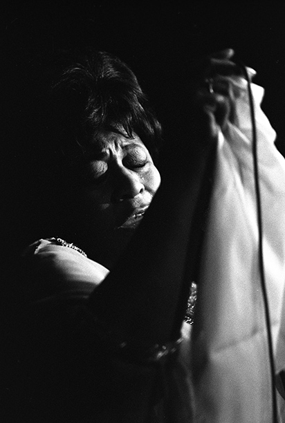 Ella Fitzgerald at The Rainbow Room, May 1968