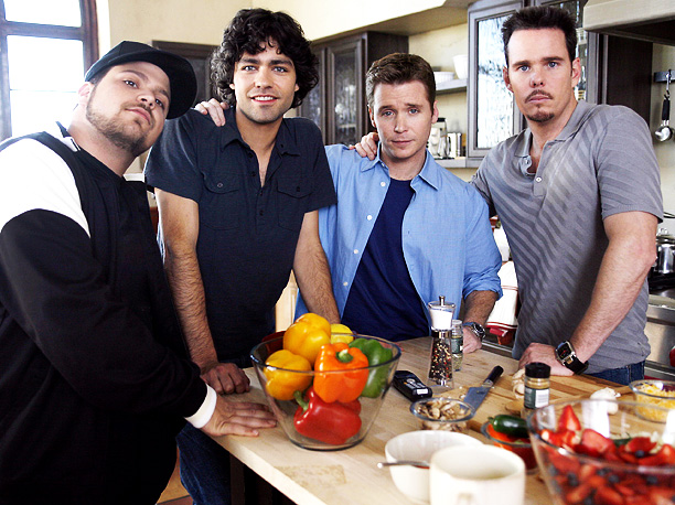 Kevin Dillon, Jerry Ferrara, ... | Relationships forged in Queens that migrated to sunny California, the Entourage gang were at their best living large at Vince's expense. With all the money,…