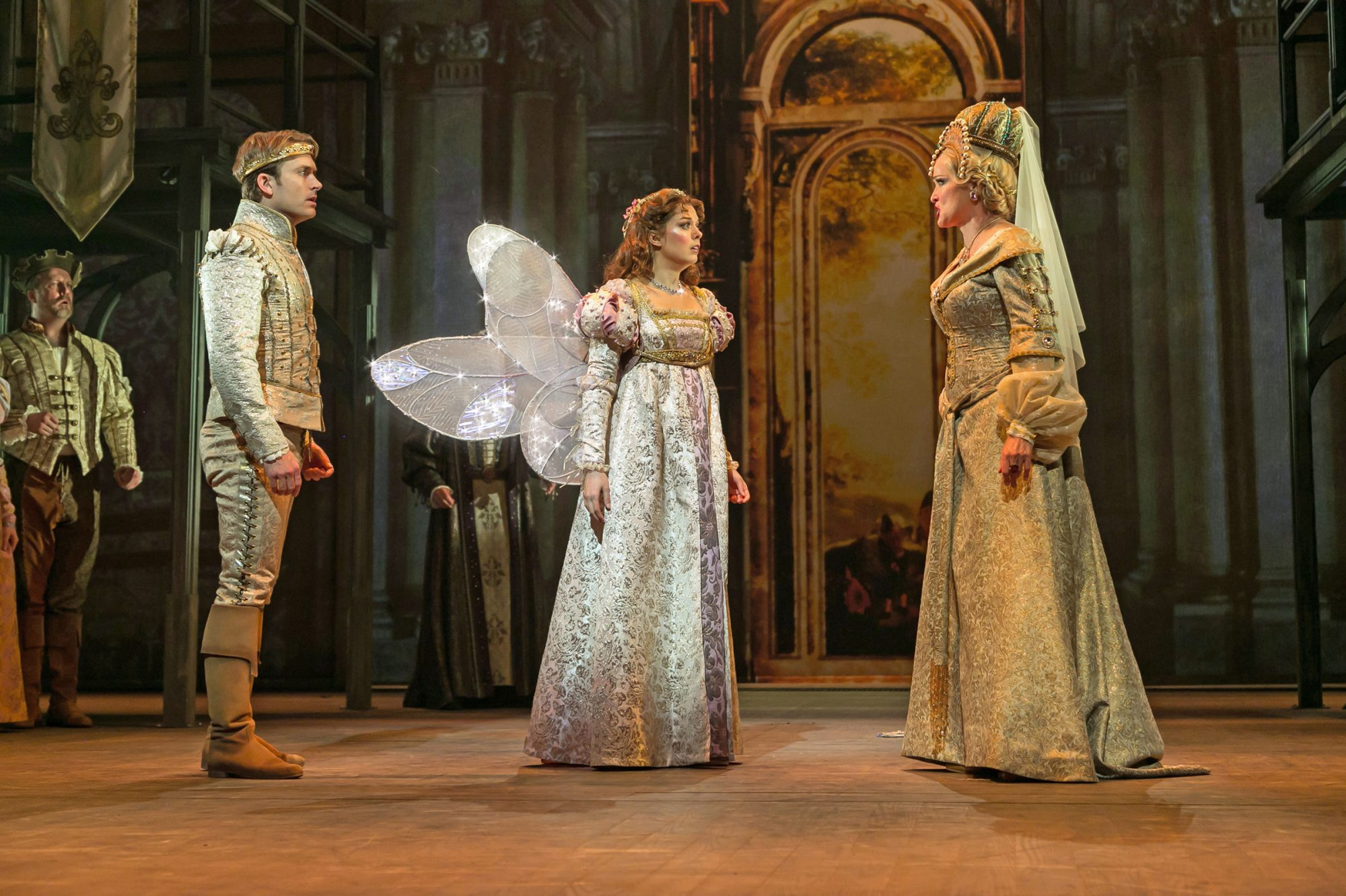 """""""Ever After"""" James Snyder, Margo Seibert and Christine Ebersole"""