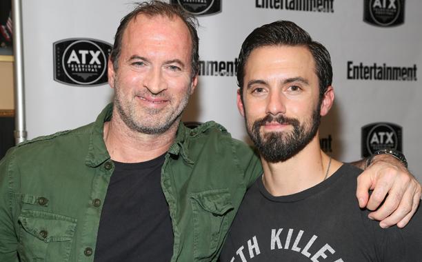 Scott Patterson and Milo Ventimiglia