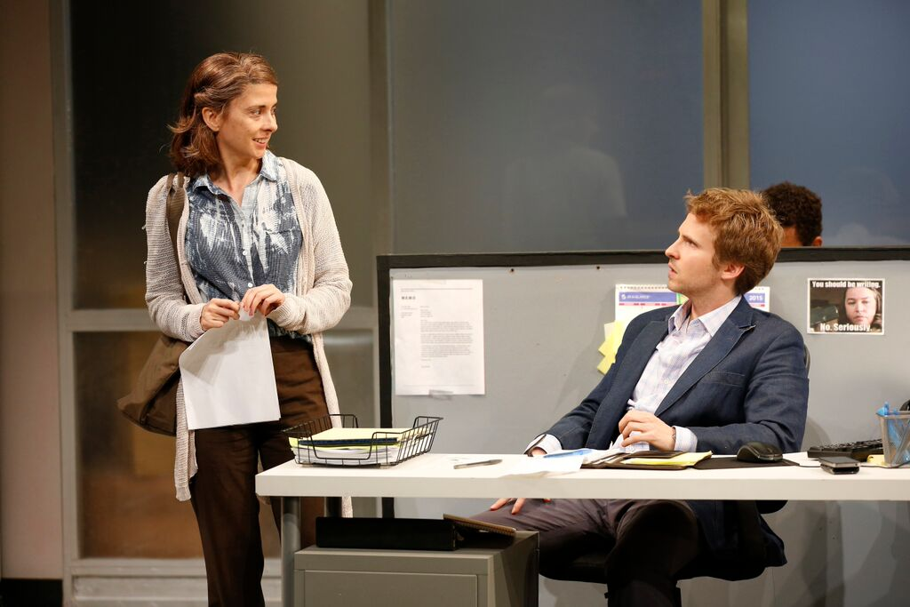 """Gloria"" Jeanine Serralles and Ryan Spahn"