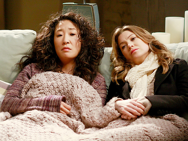 Sandra Oh, Ellen Pompeo, ... | The twisted sisters might seem bright-and-shiny now, but they weren't always that way. These two saw each other through some of their darkest days. Failed…