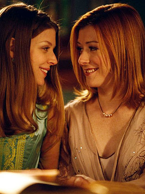 Alyson Hannigan, Buffy the Vampire Slayer | Benson's two-episode arc as Willow's Wicca-loving college friend Tara expanded into a multiseason stint as the girls grew into the series' most functional couple. ''My…