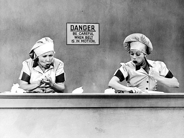Lucille Ball, Vivian Vance, ... | Their harebrained schemes usually ended in disaster (or mouths full of chocolate), but what the Manhattan neighbors had going for them was their unabiding faith…