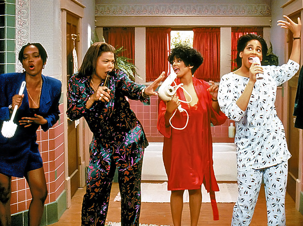 Kim Coles, Kim Fields, ... | In a '90s kind of world, they were glad they had their girls. Whether navigating the working world or living together in a Brooklyn brownstone…