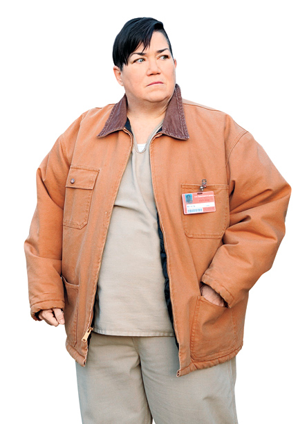 "5. Carrie ""Big Boo"" Black (Lea DeLaria)"