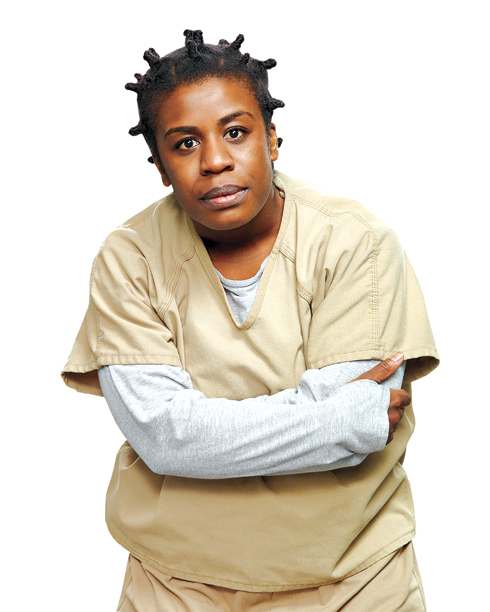 "6. Suzanne ""Crazy Eyes"" Warren (Uzo Aduba)"