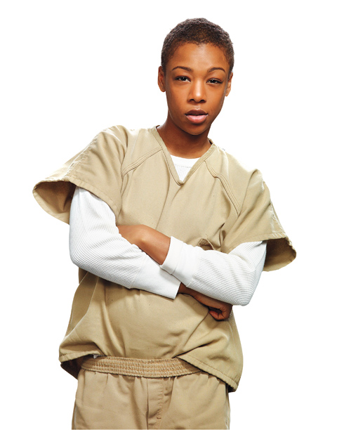7. Poussey Washington (Samira Wiley)