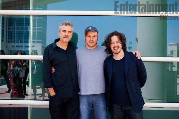 San Diego Comic-Con 2013, Alfonso Cuaron, ... | Entertainment Weekly 's Visionaries Panel: Alfonso Cuaron, Marc Webb, and Edgar Wright