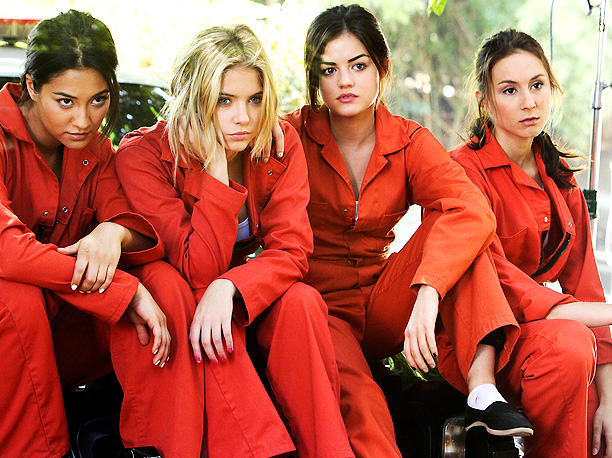 Lucy Hale, Ashley Benson, ... | The disappearance of high school queen bee Alison DiLaurentis left Emily, Hanna, Aria, and Spencer with only one another. And when a cyber stalker started…
