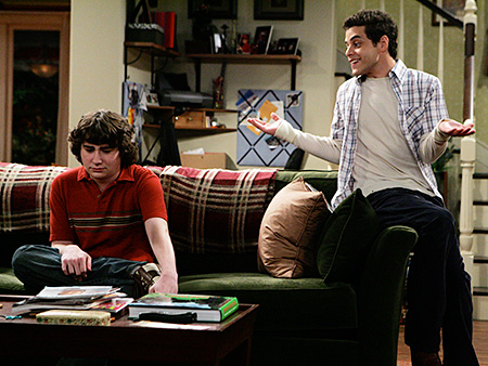 The War at Home | The first openly gay teen on a network family sitcom, neighbor Kenny came out during the Long Island-set comedy's second season, after which his Muslim…
