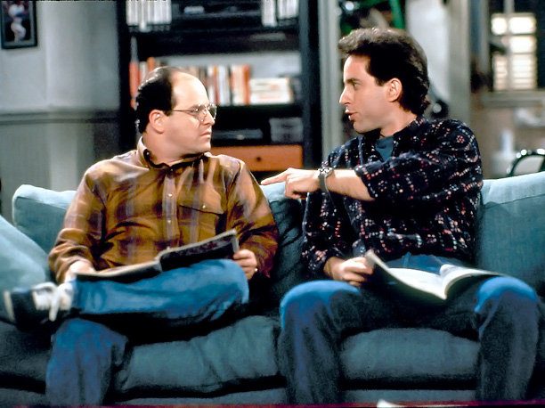Jerry Seinfeld, Jason Alexander, ... | Jerry and George are awful people: duplicitous, self-serving, and narrow-minded — which is kind of the whole point of Seinfeld . But Jerry and George…
