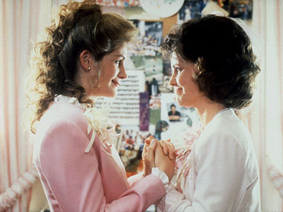 Steel Magnolias, Julia Roberts, ... | Steel Magnolias (1989) We could spend the next few sentences explaining the appeal of this 10-hanky Louisiana-set dramedy — or its extraordinary ensemble cast (Sally…