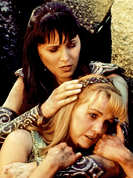 Lucy Lawless, Xena: Warrior Princess | Xena was a self-loathing warrior who wasn't a big fan of having company, which made Gabrielle's job that much harder. But after she refused to…