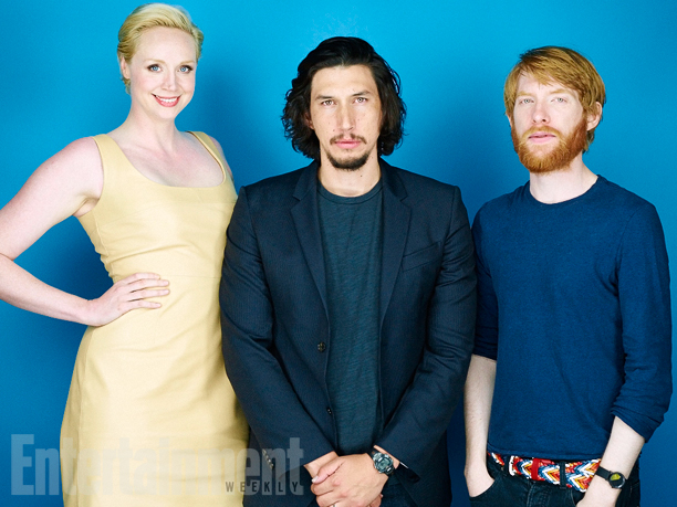 Gwendoline Christie, Adam Driver, Domhnall Gleeson, 'Star Wars: The Force Awakens'