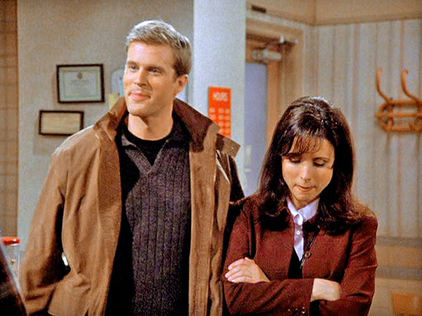 """Cary Elwes as """"David"""": Season 7, episode 21, """"The Wait Out"""""""
