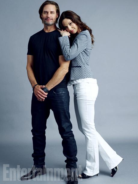 Josh Holloway and Sarah Wayne Callies, 'Colony'