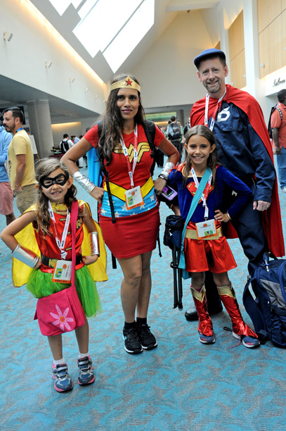 Family of DC superheroes