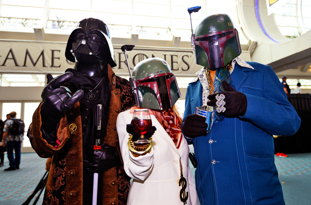 'Star Wars' fans ready for the cocktail lounge