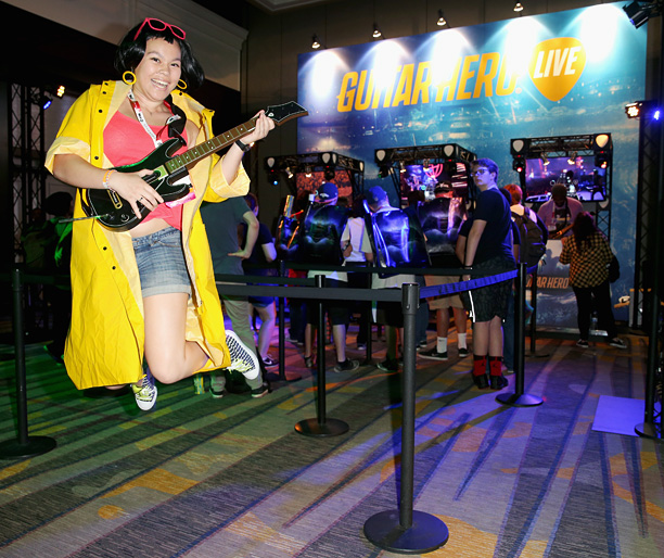 Riffing with Guitar Hero Live